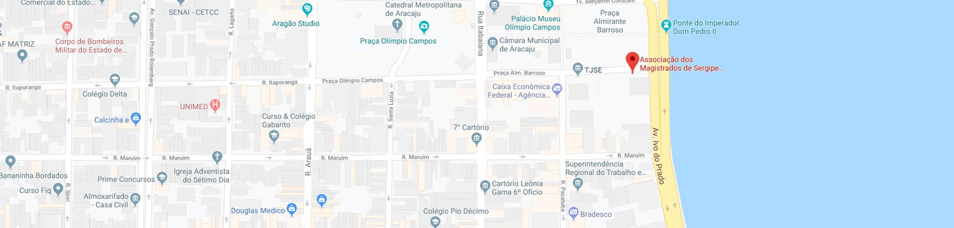 Mapa localização AMASE