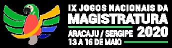 Logo IX Jogos Nacionais da Magistratura